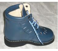 Черевики на шнурках, з м'яким кантом, заготівка верху з перфорацією