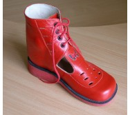 Черевики літні  на шнурках, заготівка верху з перфорацією